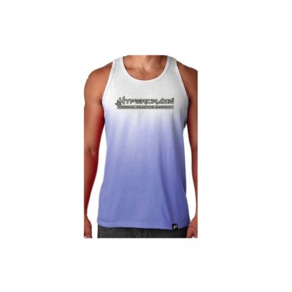 Tank top Blue-to-white
