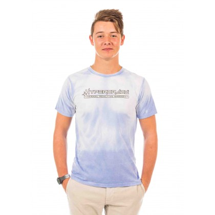 Blue to White t-shirt